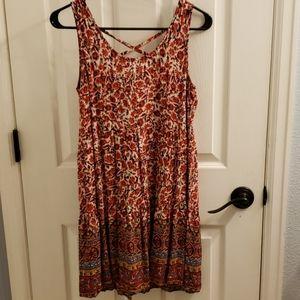 Umgee Flowery Dress Size S